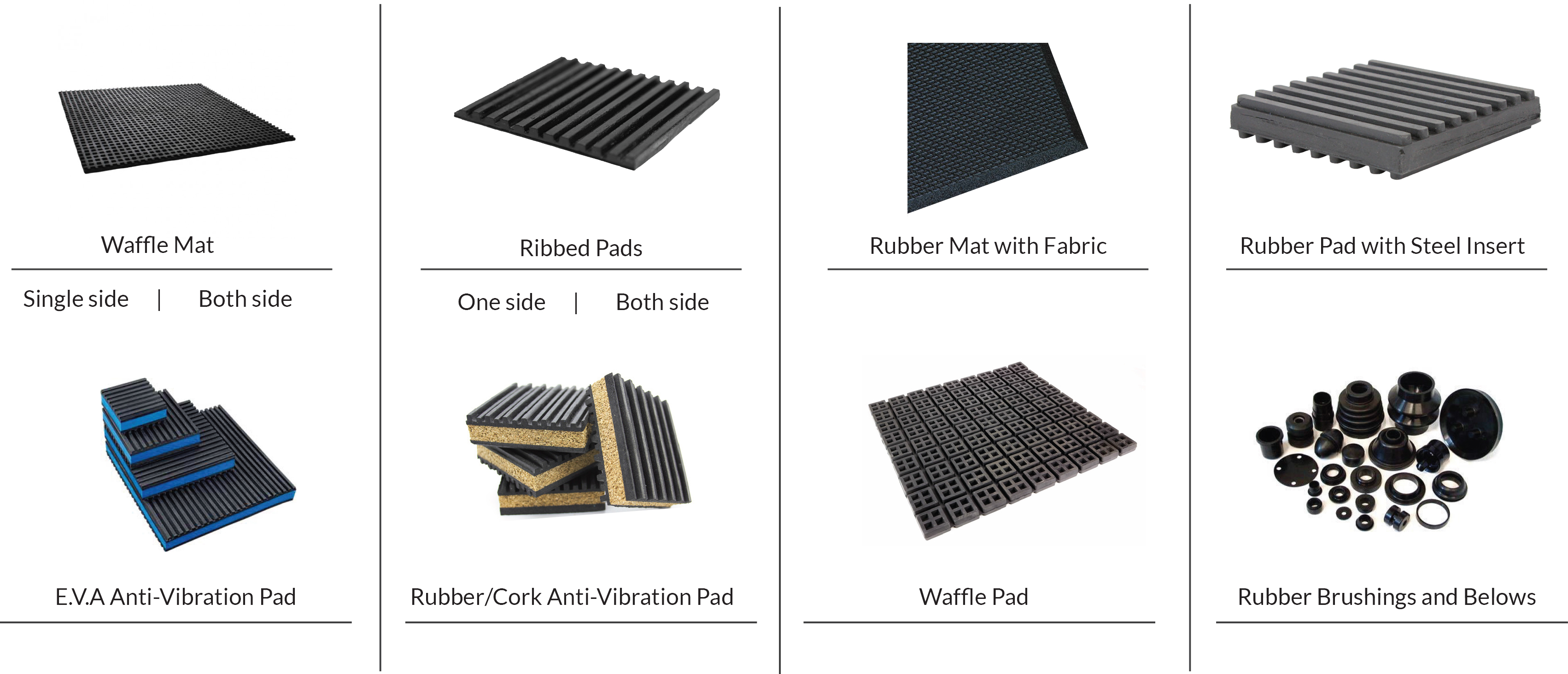 Anti-Vibration Mats & Pads